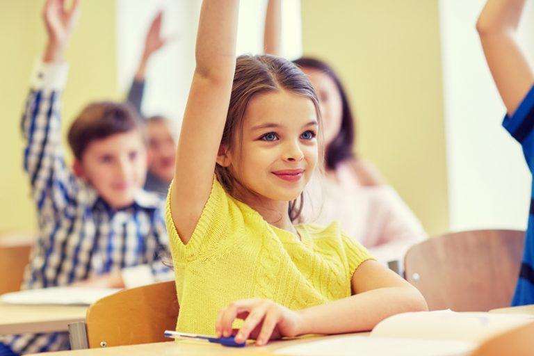 Quiet kids in school